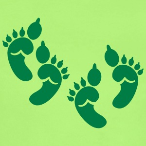 twins green OGRE feet! great for HALLOWEEN baby Baby & Toddler Shirts - Short Sleeve Baby Bodysuit