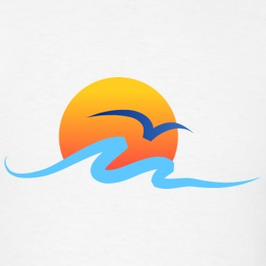 Summer - Wave - Design - Water - Vacation T-Shirts - Men's T-Shirt