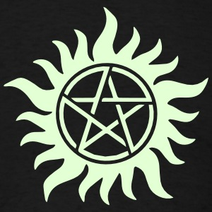 Pentagram - Supernatural - Demons - Sam - Dean T-Shirts - Men's T-Shirt