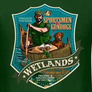 wetlands T-Shirts - Men's T-Shirt