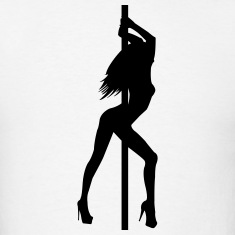 Stripper - Pole Dancer - Nude - Sexy - Strip Club T-Shirts