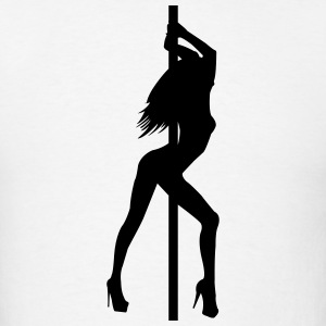 Stripper - Pole Dancer - Nude - Sexy - Strip Club T-Shirts - Men's T-Shirt