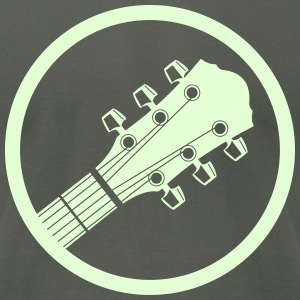 western guitar T-Shirts - Men's T-Shirt by American Apparel