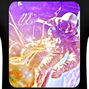 Astronaut - Space - NASA - Art - Universe - Stars T-Shirts - Men's T-Shirt
