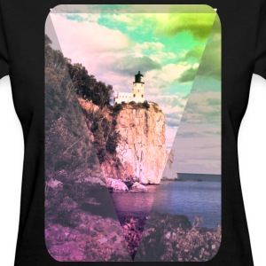 Lighthouse - Art - Hipster - Ocean - Cool Women's T-Shirts - Women's T-Shirt