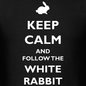 White Rabbit T-Shirts - Men's T-Shirt