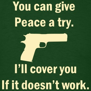 Men's Green I'll Cover You T Shirt - Men's T-Shirt