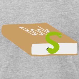 Bookworm  T-Shirts - Men's T-Shirt by American Apparel