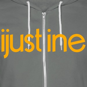ijustine for zip mp Zip Hoodies & Jackets - Unisex Fleece Zip Hoodie by American Apparel