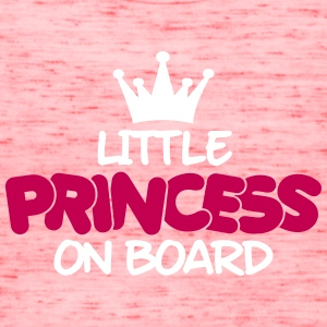 little princess on board Tanks - Women's Flowy Tank Top by Bella