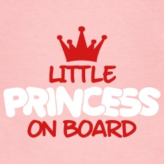 little princess on board Long Sleeve Shirts