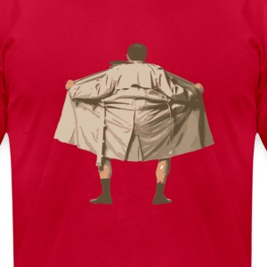 Flasher T-Shirts - Men's T-Shirt by American Apparel