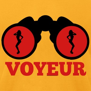 Voyeur T-Shirts - Men's T-Shirt by American Apparel