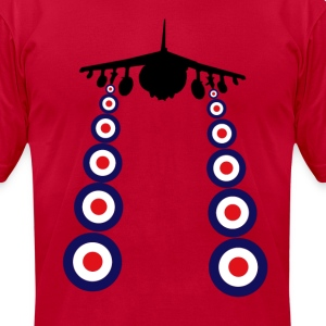 Harrier Mod T-Shirts - Men's T-Shirt by American Apparel