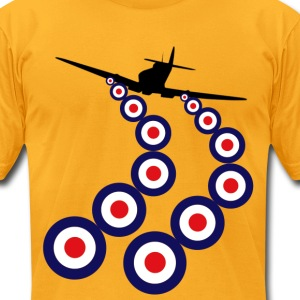 Spitfire Mod T-Shirts - Men's T-Shirt by American Apparel
