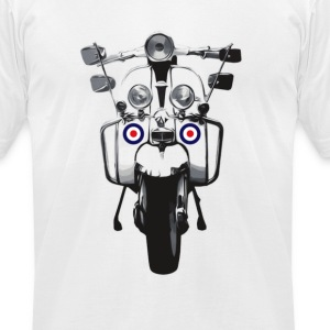 Mod Scooter T-Shirts - Men's T-Shirt by American Apparel