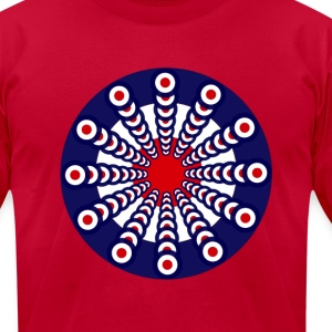 Mod Clock T-Shirts - Men's T-Shirt by American Apparel