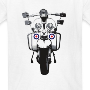 Mod Scooter Kids' Shirts - Kids' T-Shirt