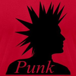 Punk Head T-Shirts - Men's T-Shirt by American Apparel