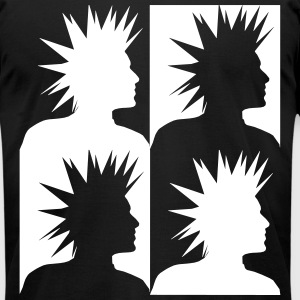 Punk Heads T-Shirts - Men's T-Shirt by American Apparel