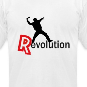 Revolution T-Shirts - Men's T-Shirt by American Apparel