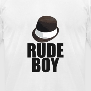 Rude Boy T-Shirts - Men's T-Shirt by American Apparel