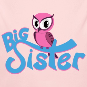 Owl Big Sister Baby & Toddler Shirts - Long Sleeve Baby Bodysuit