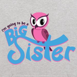I'm going to be a Big Sister - Owl Sweatshirts - Kids' Hoodie