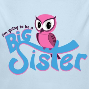I'm going to be a Big Sister - Owl Baby & Toddler Shirts - Long Sleeve Baby Bodysuit