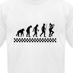 Evolution of Ska T-shirt - Men's T-Shirt by American Apparel
