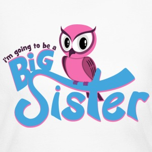 I'm going to be a Big Sister - Owl Long Sleeve Shirts - Women's Long Sleeve Jersey T-Shirt