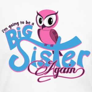 Owl Big Sister Again Long Sleeve Shirts - Women's Long Sleeve Jersey T-Shirt