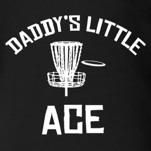 Daddy's Little Ace Disc Golf Shirt Baby & Toddler Shirts - Baby Short Sleeve One Piece