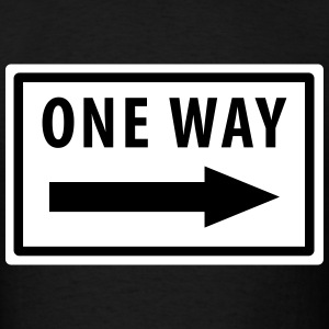 One Way T-Shirt - Men's T-Shirt
