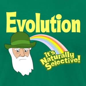 Evolution - it's Naturally Selective - Men's T-Shirt by American Apparel