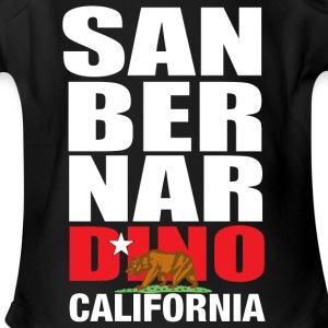 San Bernardino california - Short Sleeve Baby Bodysuit