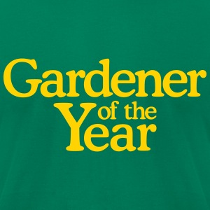 Gardener of the Year T-Shirt - Men's T-Shirt by American Apparel