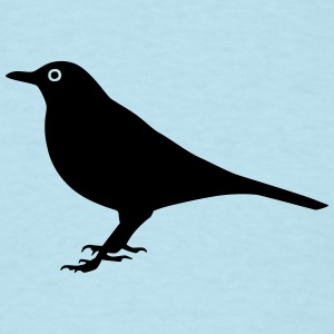 Bird Blackbird T-Shirts - Men's T-Shirt