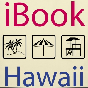 i Book Hawaii tricolor Bags & backpacks - Eco-Friendly Cotton Tote