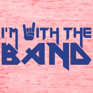 i'm with the Band Tanks - Women's Flowy Tank Top by Bella