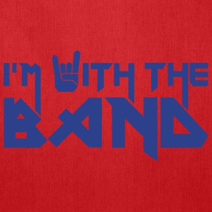 i'm with the Band Bags & backpacks - Tote Bag
