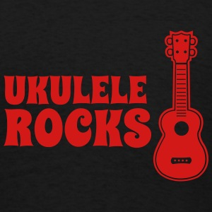 Ukulele Rocks - Men's T-Shirt