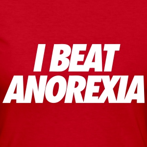 I Beat Anorexia Long Sleeve Shirts - Women's Long Sleeve Jersey T-Shirt