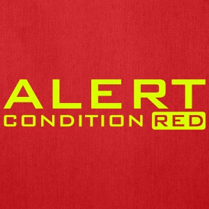alert condition red (b, 1c) Bags & backpacks - Tote Bag