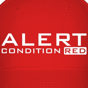 alert condition red (b, 1c) Caps - Baseball Cap