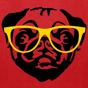 nerd pug Bags & backpacks - Tote Bag