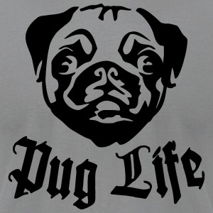 Pug Life T-Shirts - Men's T-Shirt by American Apparel