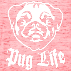 Pug Life Tanks - Women's Flowy Tank Top by Bella