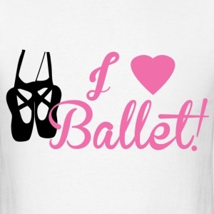 I Love Ballet - Men's T-Shirt