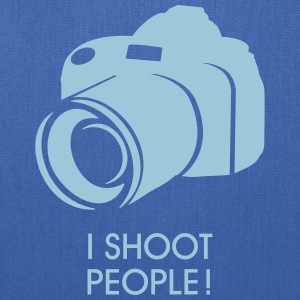 I shoot people Bags & backpacks - Tote Bag